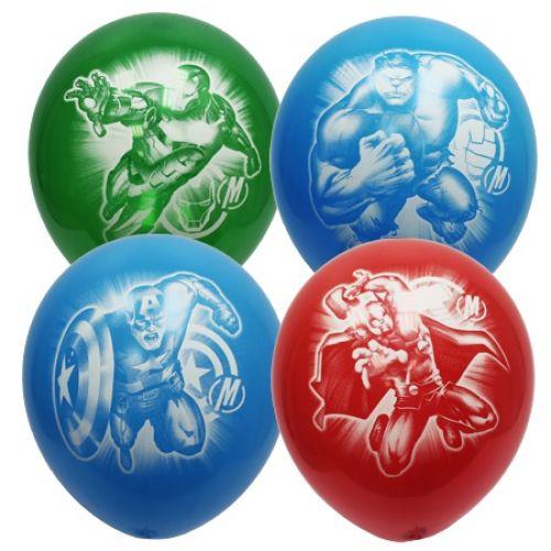 Воздушные шары в стиле Мстители