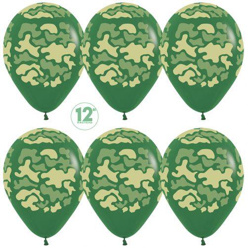 Шары камуфляж - быстрый сервис доставки шаров