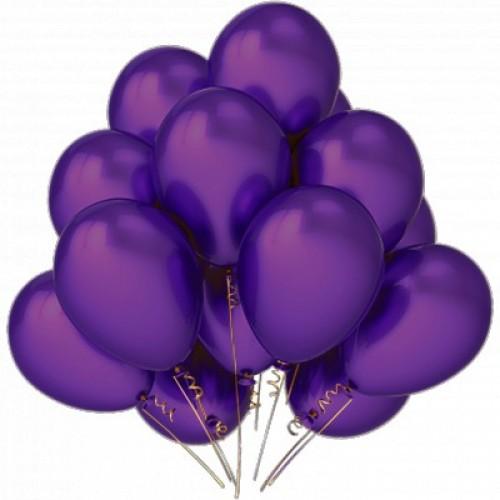 Фиолетовые шары по одному или в связке любое количество. Мы любим наших клиентов