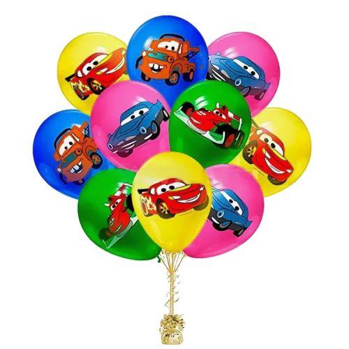 Шарики тачки на день рождения - Студия Шар Арт