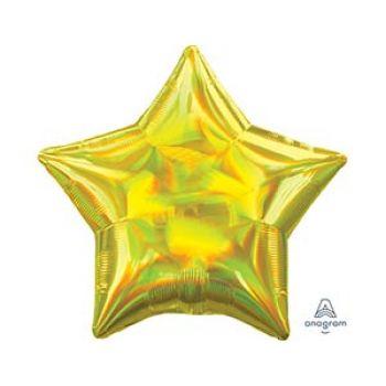 Звезда переливы (yellow, 46 см)