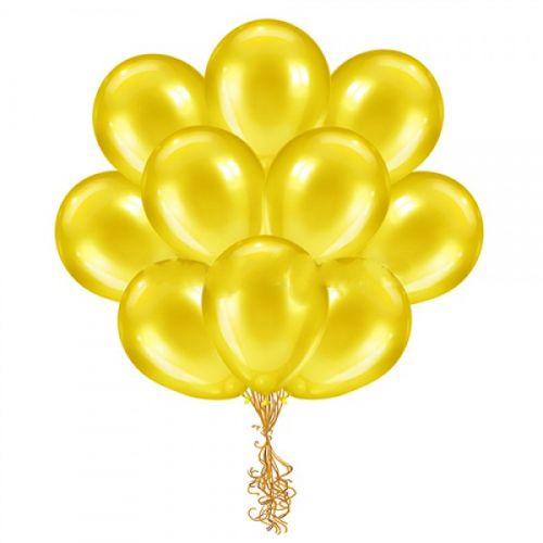 желтые шары купить выгодно в Москве