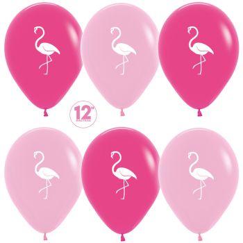 """Шарики """"Розовый фламинго"""" (цена за шар)"""