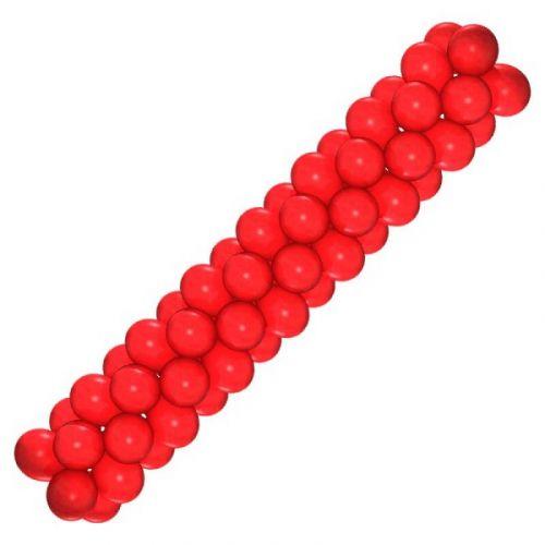 Гирлянда из шаров (красная)