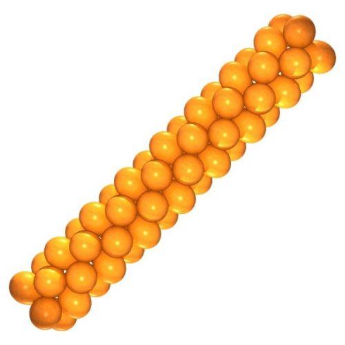 Гирлянда из шаров (оранжевая)