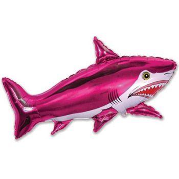 Шар страшная акула, фуксия