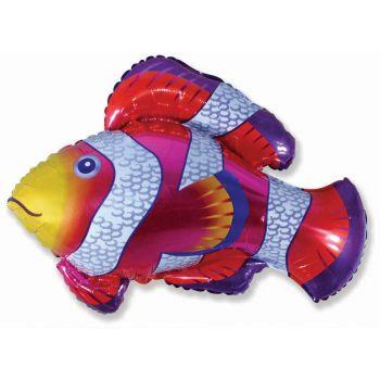 Фольгированный шар, Рыба-клоун (Фуксия)