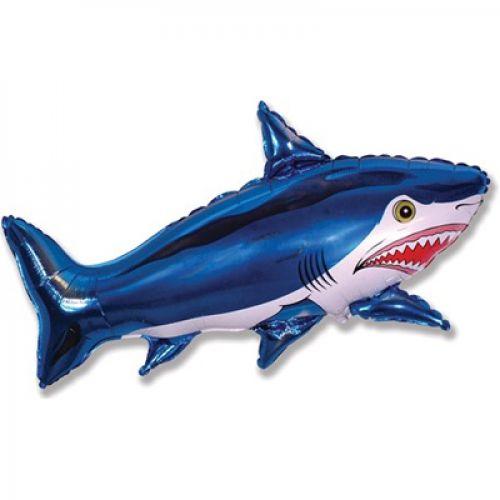 Шар акула - оформи праздник шарами - доставка
