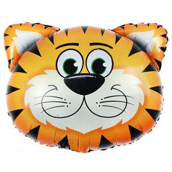 Шар Фигура - Большая голова Тигра