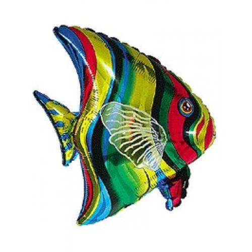 Фольгированный шар Тропическая рыба