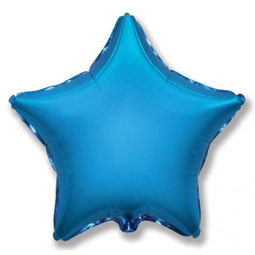 Фольгированная звезда (Синяя)