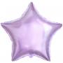 Фольгированная звезда (Сиреневая)