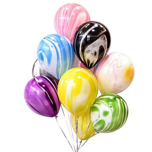 Полосатые шарики - своевременная доставка