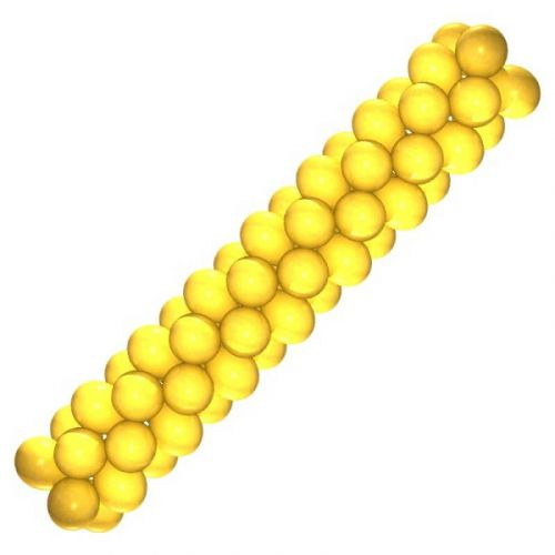Гирлянда из воздушных шаров - цена 400 руб за метр
