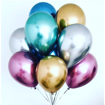 15 хромовых шаров