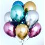 Купить хромовые шары 15 штук под потолок