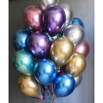 25 хромовых шаров