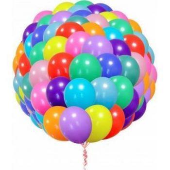 100 гелиевых шаров с доставкой