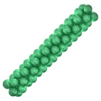 Гирлянда из шаров (зелёная)