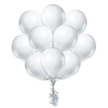 Латексные шары (белые, цена за шар)