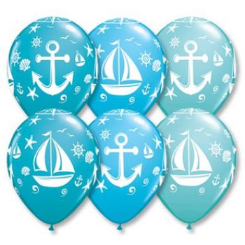 """Латексные шары"""" Морская (Belbal - цена за шар)"""