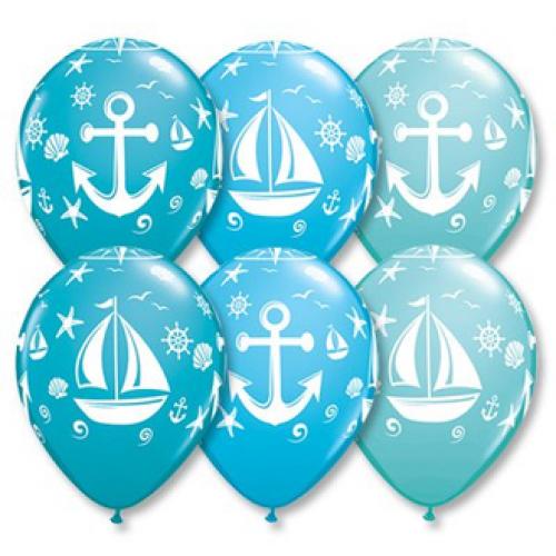 Шарики морская тематика - доставка вовремя обращайтесь