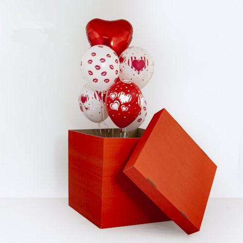 """Коробка шаров """"Сердечный сюрприз"""""""