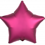Фольгированные звёзды сатин