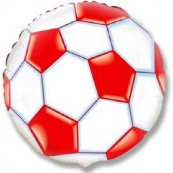 Шар Футбольный мяч (46 см), Красный