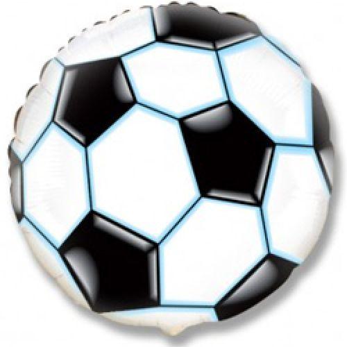 Шар Футбольный мяч (46 см), Чёрный