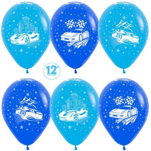шары с гоночными машинами