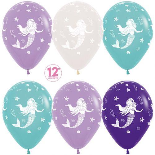 Купить шарики русалочка - доставим вовремя Москва и область