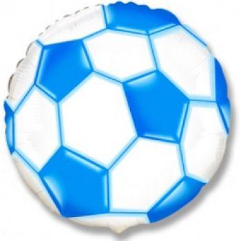 Шар Футбольный мяч (46 см), Синий