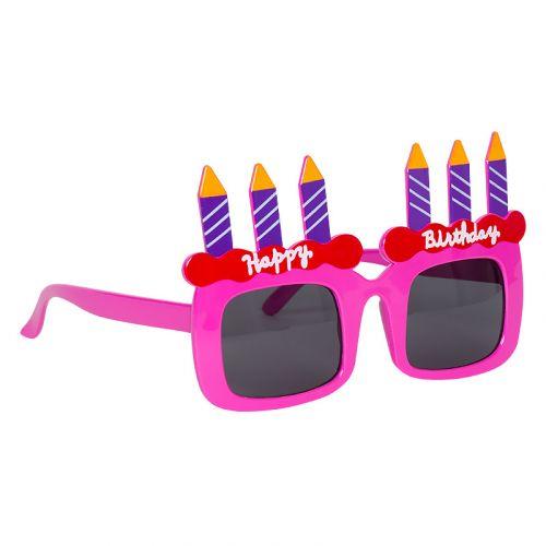 Детские очки Happy Birthdaay (розовые)