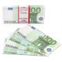 Деньги из бумаги - 100 евро