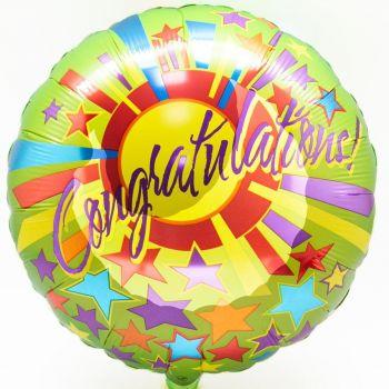 """Фольгированный шар """"Congratulations"""""""