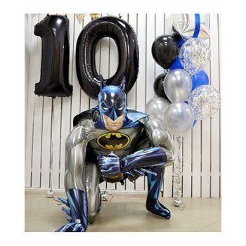 Оформление шарами мальчику на 10 лет