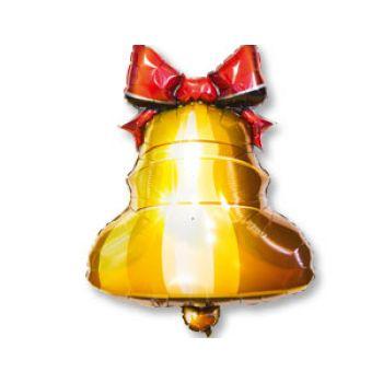 Фольгированный шар Колокольчик с бантом