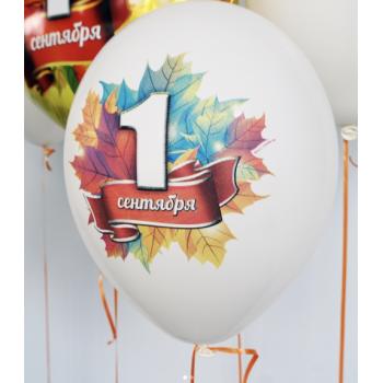 """Латексные шарики """"1 Сентября"""" (цена за шар)"""