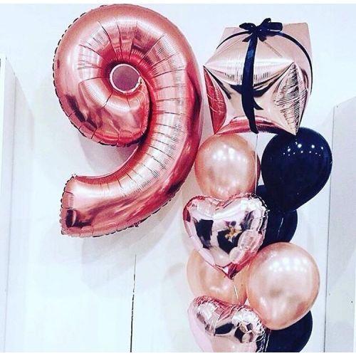 доставка шаров для девочки 9 лет в Москве и Московской Области