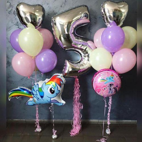 доставка шаров my little pony