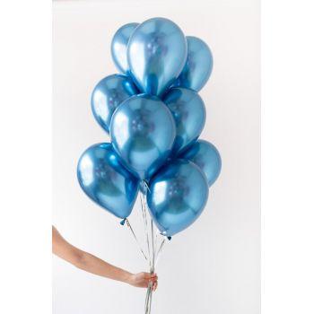 Синие хромовые шары (цена за шар)
