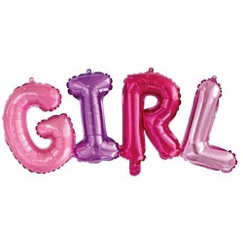 надпись girl - красивое оформление выписки