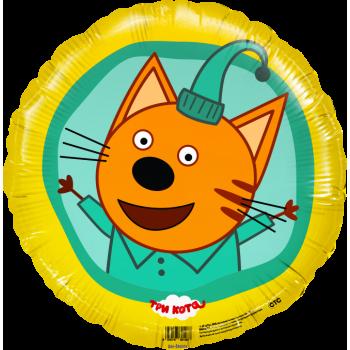 Фольгированный круг (46 см) Три Кота - Компот
