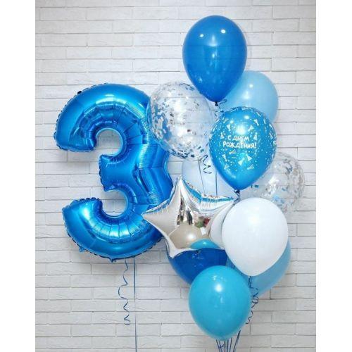 Доставка шаров сыну на 3 день рождения