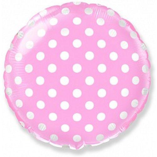 Розовый шарик в точку - доставка