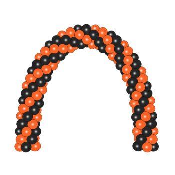 Чёрно-оранжевая арка на Хэллоуин (цена за метр)