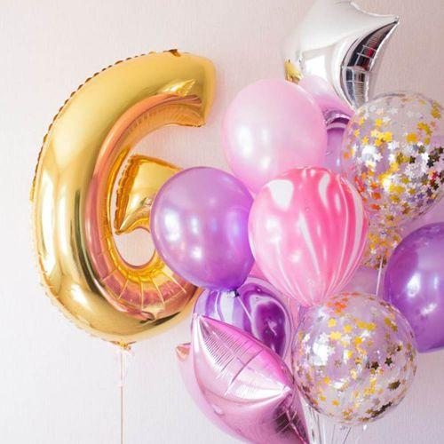 Что подарить дочке 6 лет - комната с шарами под потолок