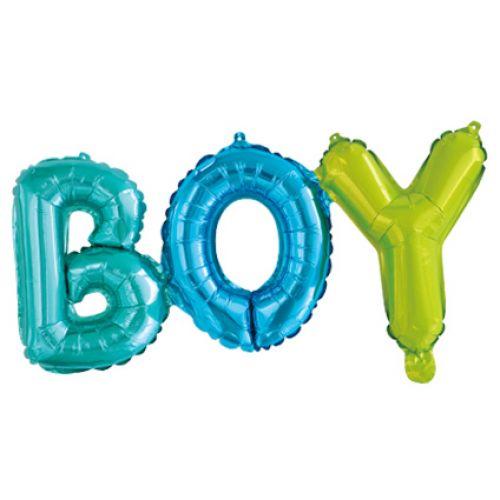 надпись Boy - красивое оформление на выписку