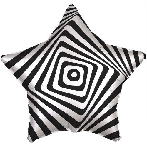 Фольгированная звезда Иллюзия (46 см)
